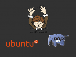 Composer installation problem in Ubuntu with PHP cURL